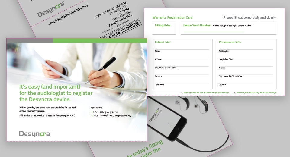 details of registration mailer